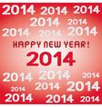 HNY 2014 vector image vector image