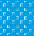 tennis net pattern seamless blue vector image vector image