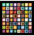 Flat design slot machine vector image