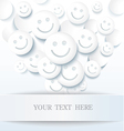 Abstract positive background vector image