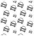 car transportation vehicle background vector image vector image