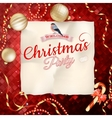 Christmas Abstract background EPS 10 vector image vector image