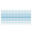 dollar banknote shape halftone grid vector image