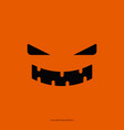 halloween background concept smile ghost on vector image