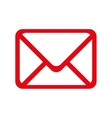 mail post envelope correspondence icon vector image vector image