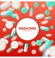 Pills Medical vector image vector image