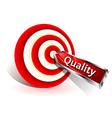 quality concept vector image vector image