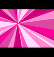 Rays Radius Background Pink vector image vector image
