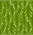 repeated seamless pattern green tea vector image
