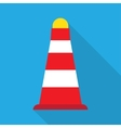 Road Cones icon vector image