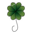 saint patrick clover icon vector image vector image