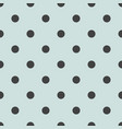seamless pattern with cute tile black polka dots o vector image