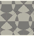 striped modern geometric seamless pattern vector image vector image