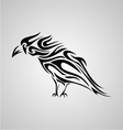 Tribal Crows vector image