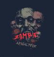 zombie apocalypse head