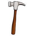 A hammer vector image