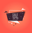 big sale banner special offer raster version vector image