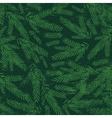 christmas background with green alder twigs vector image vector image