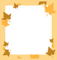 design frame thankgiving theme collection vector image vector image