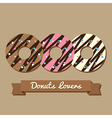 Donuts Lovers vector image vector image