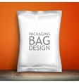 Empty packaging design chips candy cookies vector image vector image
