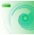 green circles background in eps10 vector image