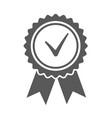 ribbons award isolated on white background vector image vector image