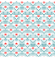 Seamless abstract geometric pattern retro vector image vector image