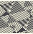 striped modern geometric seamless pattern vector image vector image