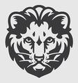Lion Head Logo Mascot Emblem vector image