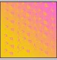 christmas pink golden gradient background vector image