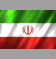 iran flag background vector image