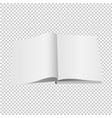 opened book set isolated transparent background vector image