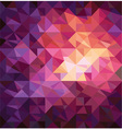 pattern of geometric shapes vector image vector image