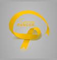 sarcoma and bone cancer awareness calligraphy vector image