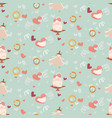 wedding abstract seamless pattern in pastel soft vector image