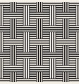 abstract geometric pattern with stripes lattice vector image vector image