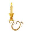 candelabrum icon cartoon style vector image vector image