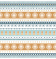 christmas stripe ribbons pattern vector image vector image
