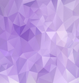 purple violet polygon triangular pattern vector image vector image
