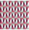 seamless pattern with squares and triangles vector image