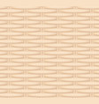 seamless texture of a wicker basket vector image