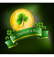 Symbols for St Patricks celebration vector image