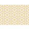 a gold seamlessl pattern for the card or vector image vector image