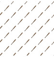 baseball bat pattern vector image