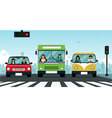 Car traffic light vector image vector image