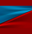 contrast red blue smooth gradient abstract vector image vector image