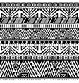ethnic primitive seamless pattern vector image