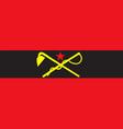 flag of inner mongolia autonomous region in china vector image