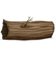 hollow log vector image